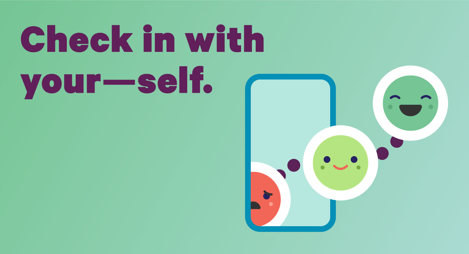 Checking in on your wellbeing…